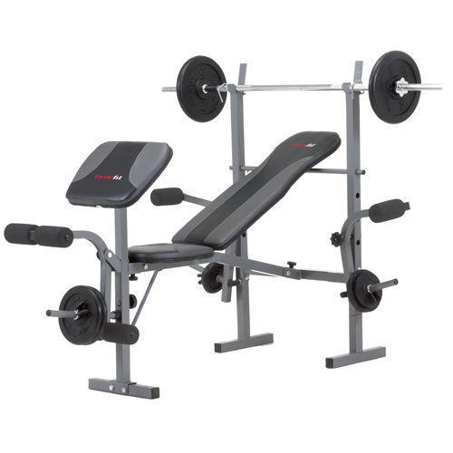 Πάγκος Γυμναστικής με Ορθοστάτες WBK 500